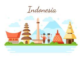 indonesia-vector-illustration