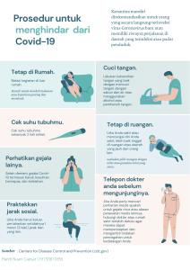 Prosedur untuk Self-Quarantine under Covid-19