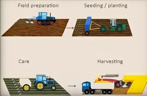 Gambar 1. Proses Pertanian