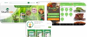 Gamabr 3. Aplikasi pemasaran